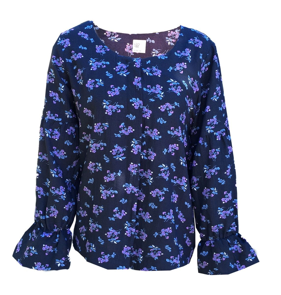 ac1ccb9e4c54dc Trickster Top (Navy) - Labels-Leo+Be   Just Looking - Leo+Be W19
