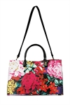 Once In A Floral Tote Bag