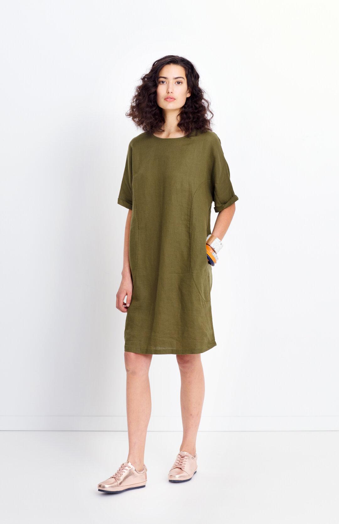 c904c42d78 Linen Shift Dress - Labels-Elk   Just Looking - Elk S18